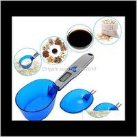 300g01g 500g01g Tres cucharas electrónicas escala portátil Mini cuchara de cocina escalas de pesaje Análisis de medición Instrumentos HA772 UAT1 6XF2P