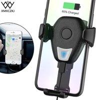 Teléfono celular soportes de soporte XMXCZKJ Cargador inalámbrico Soporte móvil Montaje de ventilación de aire Soporte de clip para XR con smartphone st de carga
