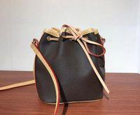 Top Quality Mini Mostras De Couro Moda Ombro Nano Noe Bags Mulheres Genuínas Totes Alta Messenger Handbags M41346