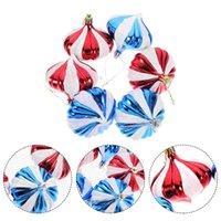 Party Decoration 6pcs Christmas Hanging Onion Tree Decor Pendants