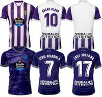 Real Valladolid Futebol Jerseys 21 22 Weissman Fede S. Sergi Guardiola Óscar Plano L. Olaza R.ALCARAZ Marcos Andre Camisetas de Fútbol 2021 2022