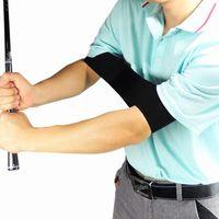 Wholesale Golf Swing Trainer Trainer Trainner Tracticing Руководство по выравниванию Жест Учебные помощи СПИД Правильные Рабочий тренажер Упругая ремень