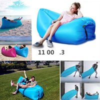 Hot selling Inflatable Outdoor Lazy Couch Air Sleeping Sofa Lounger Bag Camping Beach Bed Beanbag Sofa Chair SEAWAY EWF9996