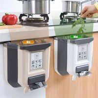 8L cocina plegable basura basura basura basura basura basura para reciclar S 210908