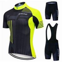 Tracksuits 2021 New Capo Pro Jerseys Set Летняя одежда Горная одежда Велосипед MTB Велосипедный костюм