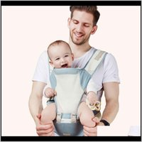 Träger, Slings Rucksäcke Sicherheitsausrüstung Baby, Kinder Mutterschaft Tropfenlieferung 2021 Reppy Atmungsaktive Kühle Front Holding Multifunktions