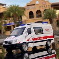 132 مقياس عدش الإسعاف نموذج سيارة لعبة سبائك المعادن دييكاست لعبة سيارة نموذج سيارة هدية سيارات الاطفال لعب للأطفال