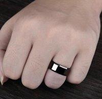 Роскошный дизайн подарок Factorfactory2v1u Men Titanium Black PS1702 кольцо