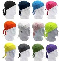النساء الرجال في الهواء الطلق الرياضة الدراجات قبعات رونينغ ركوب الحجاب عقال دراجة كاب الرجال ركوب باندانا قبعة 553 z2