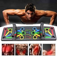 Foldable Push Up Board Multifunctional Body Comprehensive Exercise Stands Slimming Gym Training Drop Shipping Body Training Gym X0524