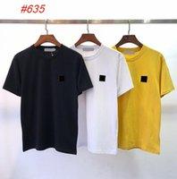 상단 디자인 여름 패션 클래식 티셔츠 라운드 넥 3 색 캐주얼 남성 반팔 티셔츠 M-2XL # 635