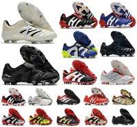 남성 육식 동물 절대 20 가속기 영원한 클래스 20+ 축구 신발 Mutator Mania Tormentor 전기 정밀도 20 + x FG 베컴 Zidane Cleats 축구 부츠