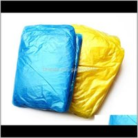 Impermeables desechables impermeables adultos para adultos viaje de emergencia para acampar debe abrigo de lluvia unisex impermeable con capucha Poncho DOCH5 87ORE