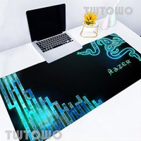 Mouse Pads & Wrist Rests Computer Keyboard Razer Large Size Sell Natural Rubber Anti-slip Cartoon Soft Office Decoration Home Pad MousePad