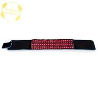 전문 LED 슬리밍 허리 벨트 물리 치료 벨트 LLLT Lipolysis 통증 완화 붉은 빛 적외선 바디 조각 쉐이핑 660nm 850nm lipo 레이저