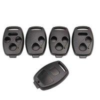 För Honda Accord / Civic / Cr-V / Fit / Odyssey / Pilot / Ridgeline / CR-Z bilnyckel för Keyless Entry Remote Shell Remote Control Case