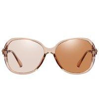 69٪ خصم 2021 النظارات الشمسية الاستقطاب shonechromic sunglaases امرأة خمر الفاخرة النظارات الشمس النظارات الشمسية ظلال للنساء UV400 MNJ9