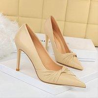 Högkvalitativa kvinnor skor plattform sneakers toppdesigner öka loafers platt häl spets-upp lite vit klänning sko rund tå plus storlek 34-42 bg048-002