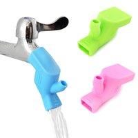 Robinet d'eau de silicone Robinet de lavage Dispositif de lavage Cuisine Accessoires de salle de bain