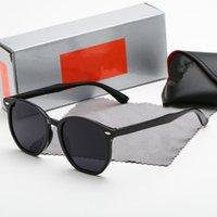 2021 Designer Ray Men Donne per occhiali da sole Vintage Pilot Band Band UV400 Protezione Bans Ben Ben Wayfarer Occhiali da sole con custodia 4306