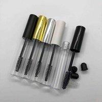 Bouteilles d'emballage Tube de conteneur de bouteille 10ml avec brosse à baguette ronde cils conditionneur de cils PETG Clear Clear Vide Mascara Z5RI