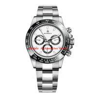 U1 AAA Tainless Steel Sports Men Reloj Negocio Top Top Cerámico Clásico Luminous Montre de Luxe Wristwatches Estilo de moda 2813 Relojes de movimiento automático Full S
