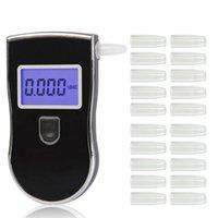 Anzeigen Alkoholtester bis 818 Ethylotest Digital Detektor Professional und 30/20 Stück Düsen Drop Alkoholismus Test