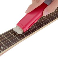 Electrical Guitar Bass String Cleaner Rust Remove Pen with String Lubricate for Music Instrument Care