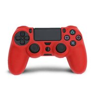 Soft Silicone Protective Case Cover for PS4 Controller Grip Covers Dualshock 4 Playstation 4 Gamepad Caps Game s