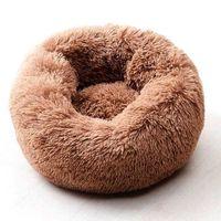 Willstar Dog Bed Winter Cálido Largo Peluche Camas para dormir Soild Color Soft Pet Dogs Cat Mat Mat Cushion Drop 210716