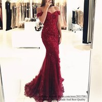 Sweety Sexy Sweetheart Appliques Sequins Mermaid Formal Evening Dresses 2021 Tulle Cocktail Prom Party Gowns E15