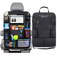 2020 Auto Car Storage Bag Bolsa Asiento Multi Pocket Travel Almacenamiento Perch Hanger Coche USB Cargador Asiento Funda Organizador Holder Backseat