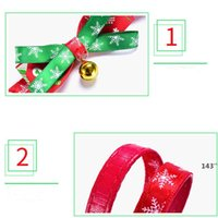 Bowknot Bell Christmas Series Pets Collars Cat Collar Dog Pet Products plus size LLF11038