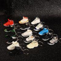 2020 Mode Sports Schuhe Keychain Niedliche Basketball Schlüsselanhänger Auto Schlüssel Tasche Anhänger Geschenk DIY 3 D Kreative Paare Schuhe Schimmel