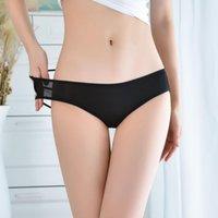 Women's Panties Sentiment Underwear Hollow Fine Belt Cross Sexy Mesh Female 6651