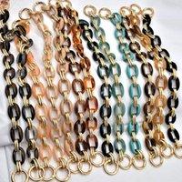 Bag Parts & Accessories Resin Chain Strap Women Ornament Acrylic Handle Shoulder Decoration