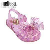 مصغرة ميليسا جميلة برشام القوس فتاة جيلي أحذية الشاطئ الصنادل الطفل لينة الاطفال عدم الانزلاق الأميرة 210712