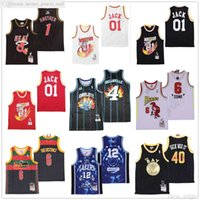 NCAA costurado jerseys de basquete remix 1 outro 01 Jack 4 Dreamville 6 Zona 6 O Distrito 12 Groovy 40 Doente It 88 Don 94 Dunceon 95 Doutit 97 Harlem Uniform Jersey