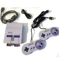 Nostalgischer Game Player Host Super Snes 21 Mini HD TV Video Console 16-Bit-Dual-Griff, graue Unterstützung zum Herunterladen und Speichern