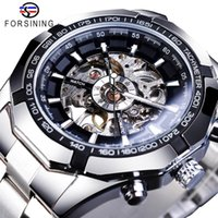 Reloj reloj reloj reloj reloj de lujo a prueba de agua para hombre esqueleto superior transparente mecánico deporte muñeca masculina