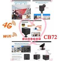 Mini Cameras 1080P 4G Battery Camera IP 2600mAh Wifi IR Night Surveillance Security CCTV