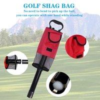 Golf-Trainingshilfen Sammeln von Maschinen Abnehmbarer Ball Picking Eimer Net Bag Tube