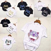 Ins Hot-20ss Frühling Summer American T-shirts Unisex Bandana Tiger Skateboard Mens Designer T-shirt Frauen Männer Casual T-Shirt Gutes T-Shirt S-XL 0303