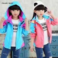 Куртки Пальто девушки одежда девочка 10-летняя куртка маленький бутик пальто меньший мебельный завод продажи