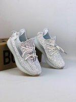 Bebek Israfil Zyon Toddlers Kanye Çocuk Koşu Ayakkabıları Yekeil Keten Reflectivfe Kuyruk Işık Bebek Statik Sneaker Yaşam Tarzı Kil Eğitmenler 03