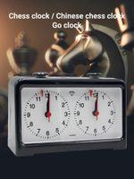 Шахматный часный таймер профессиональный механический обратный отсчет подходит для всех видов игр. Настольный стол часы