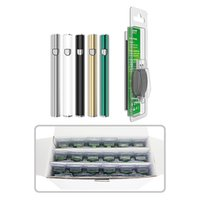 Evod 510 Prefacio Kits de batería Vape Pen 350MAH Baterías de voltaje variable para cartucho de aceite grueso E CIG TANQUES