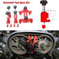 Professionele 5 Dual Cam Clamp Nokkenas Motor Timing Locking Tool Tandwiel Gear Kit Universele Wholesale Snelle levering Montage