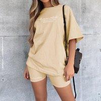 Casual Basic Vrouwen Twee Pantalones para mujer Stukken Van Conjuntos de dos piezas Homewear de gran tamaño en Skinny Shorts Set Streetwear Breve