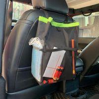 Storage Boxes & Bins Universal Premium Car Rear Seat Bag Eco-Friendly Pouch Waterproof For Automobile